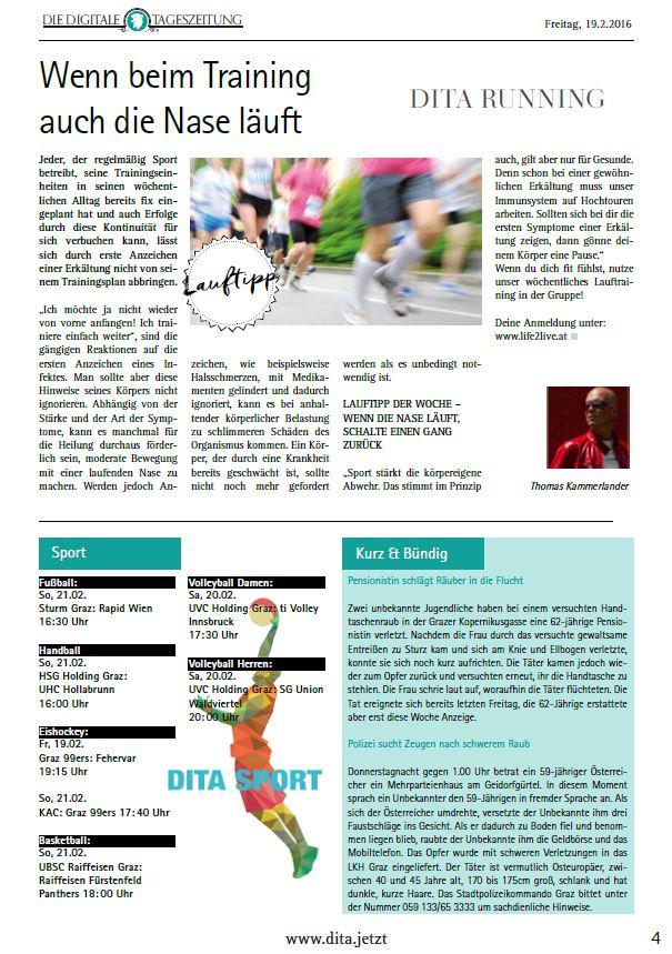 2016_02_19_DigitaleTageszeitung_DITA_107_Wenn beim Training auch die Nase läuft